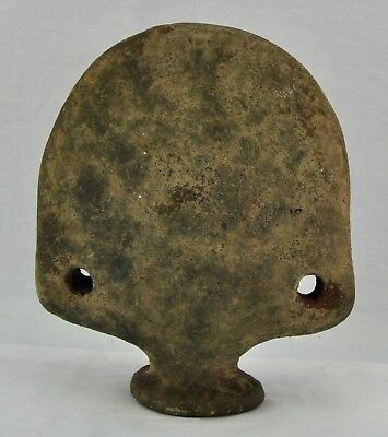 "Pre-Columbian terracotta pottery vessel / flask 10"". (BI#MK/171215)"