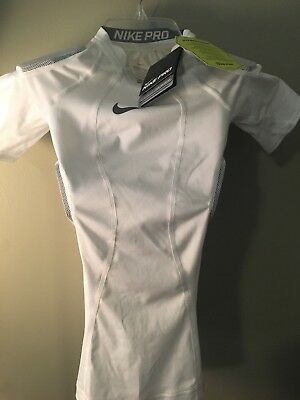d9012efa Boys Medium NIKE PRO Hyperstrong Compression Football Shirt White NEW W/TAG  $50