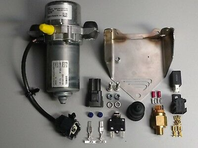 12V Vacuum Pump Kit, Brake Booster, Electric Vehicle, Hotrod