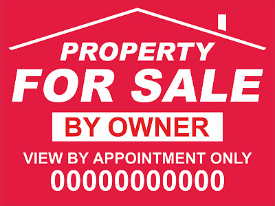 FOR SALE / TO LET sign boards x2 Personalised & FREE P&P!!!!!!!!!!!!!!!!!!!!!!!!