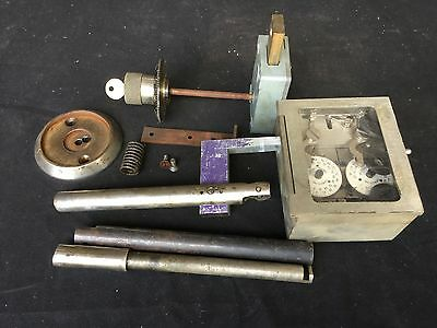 Vintage Diebold 2 Movement Time Lock w/ Combo Lock & Mounting HardwareLocksmith