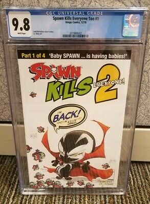 Spawn Kills Everyone Too #1 CGC 9.8