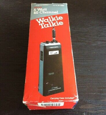 Realistic 40 Channel Walkie Talkie CB  transceiver TRC-216 Stranger Things