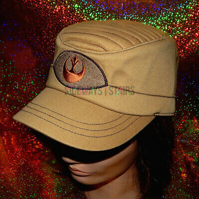 STAR WARS REBEL ALLIANCE HAT Galaxys Edge Disney Parks ribbed top cap rebellion