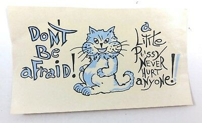 Ceramic Waterslide Decals Cat Tales 33419942 FOOD SAFE LEAD FRE