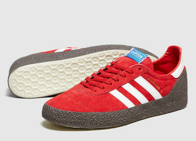 RARE Adidas ORIGINALS Mens RED Montreal 76 Trainers Shoes / NEW / Size 12 BNWT