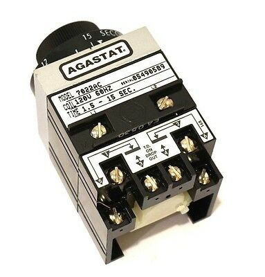 New Tyco Agastat 7022Ac Time Delay Relay