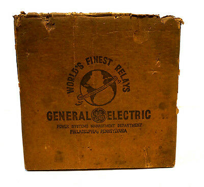 New General Electric 121Jcv51A1A Overcurrent Relay