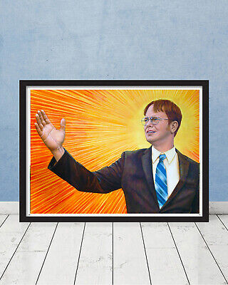 The Office Dwight K Schrute Assistant to Regional Manager Portrait Farms Gift