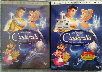 Walt Disney - Cinderella Platinum 2-Disc Special Edition - Authentic New/Sealed