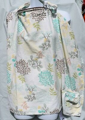 Boppy Cover Nursing Breastfeeding Cover Full Coverage Boho Tree Foldable Cotton
