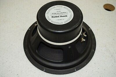 """12"""" Realistic/Radio Shack Dual Voice Coil Subwoofer Cat No. 40-1350"""