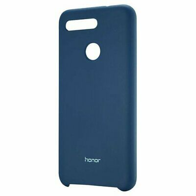 Authentique Huawei Honor Vue 20 Silicone COQUE Protectrice Bleu 51992808
