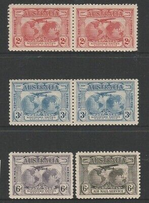 Australia Pre Decimal Mint Stamps - Kingsford Smith Set Mint (1904)