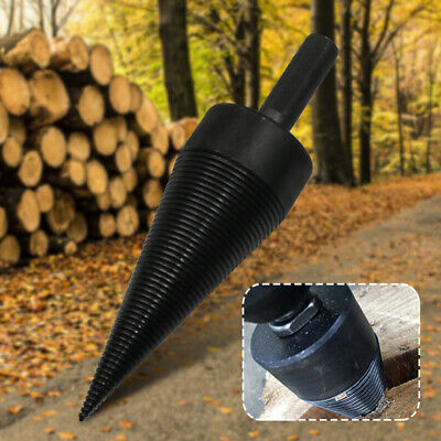 Carbide Cutting Tool Kindling Firewood Splitter Drill Bit Split SDS Plus Shank