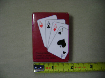 Mini Deck of Playing Cards (NEW) Travel Game Compact Portable Small Tiny Little