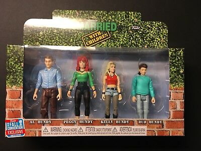 2018 Funko  Figures Married With Children TARGET Exclusive Peg Bud Kelly BUNDY