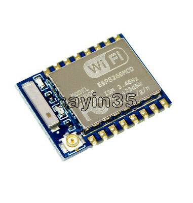 ESP8266 ESP-07 Remote Serial Port WIFI Module with IO Adapter Plate Expansion UK