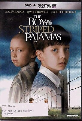 The Boy in the Striped Pajamas (2011) DVD + Digital HD Ultraviolet - NEW sealed