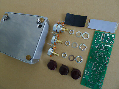 1:1 Overdrive Effects Pedal Project Box Case Aluminum With PCB/Pots/Wire Kits