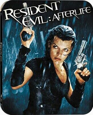 Resident Evil Afterlife Blu-Ray Steelbook Rare - Neuf