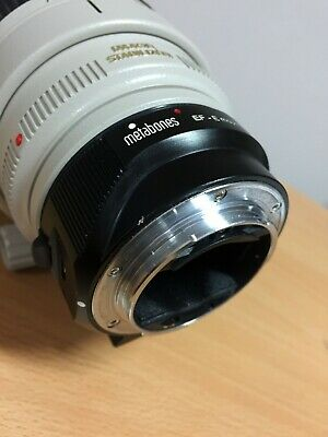 Metabones Canon EF Lens to Sony E Mount T (Mark IV) SMART Adapter