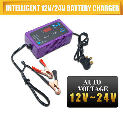 12V/24V 200AH Electric Car Dry&wet Battery Charger Intelligent Pulse Repair Type