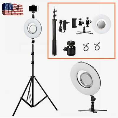 """8"""" Dimmable LED Ring Light Stand Photo Video Lighting Kit for Make up US stock"""