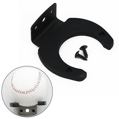 Single Baseball Bat Display Holder Wall Mount Rack Organizer With Mounting Kit