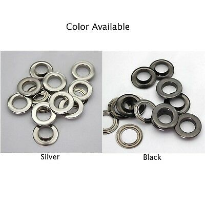 Eyelet With Washer Leather Craft Repair Grommet 3.5mm //4mm//mm5//6//8//10//12//14mm