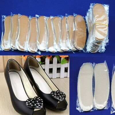 5 Pairs Extra Sticky Fabric Shoe Heel Inserts Insoles Pads Cushion Grips Sets