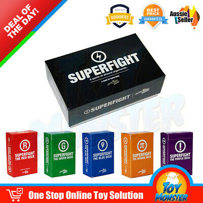 OZ Superfight Base Core Deck and Five Expansions Complete Board Party Card Game