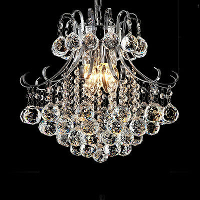 Modern K9 Crystal Glass Chandelier Lamp Ceiling Light Pendant Fixtures NewStyle