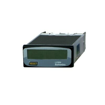 LE8N-BV Counter electronical working time Display LCD -10÷55°C IP20  AUTONICS