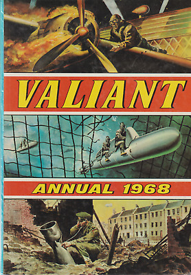 Valiant Annual 1968, Very Good Condition, Unclipped