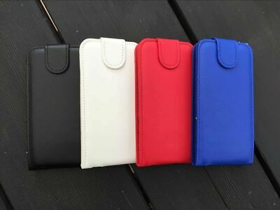 Samsung Galaxy Note 3 4 Top Flip Wallet Case Premium PU Leather Cover Protector