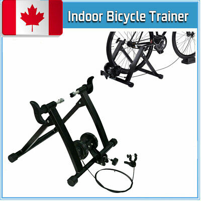 Bike Bicycle Trainer Stand 7 Level Resistance Magnetic Indoor Exercise Folding