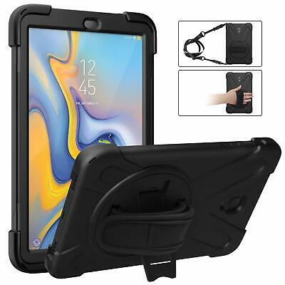 MoKo for Samsung Galaxy Tab A 10.5 2018 Case Full-Body Rugged Stand Cover Strap
