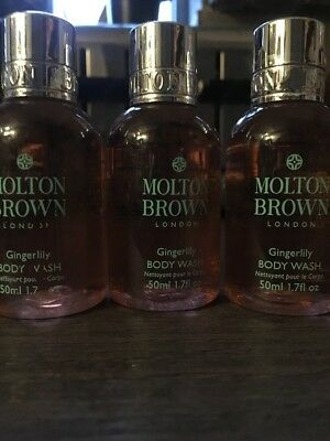 Molten Brown Gingerlily Body Wash 50ml X1