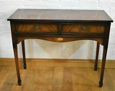 Nice Quality Antique style 2 drawer side table - console table - hall table
