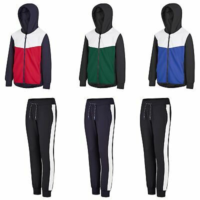 Kids Flute Material Top or Bottoms Girls Hooded Jacket Boys Joggers 134-164cm