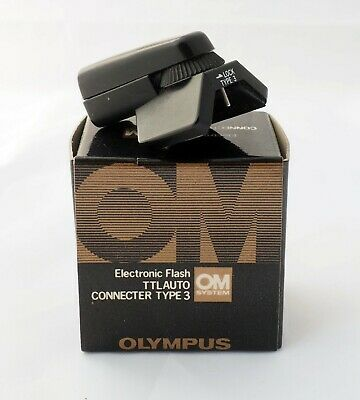 Olympus OM Flash TTL Auto Connecter (Connector) Type 3