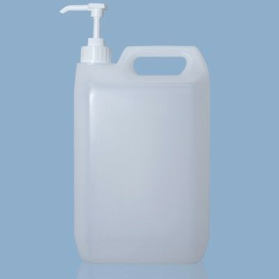 5 Litre Empty Bottle with dispenser pump 30ml for cleaning products HDPE 5 Ltr