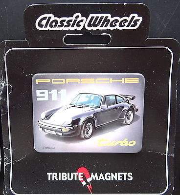 Classic Wheels Tribute Magnets PORSCHE 911 turbo G-Modell Magnet Kühlschrank