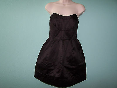 5f0128e1bf ZAC POSEN for Target Black Strapless Casual Dress Size 3