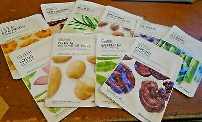 The Face Shop Real Nature Contact Mask Sheet 10 Pc