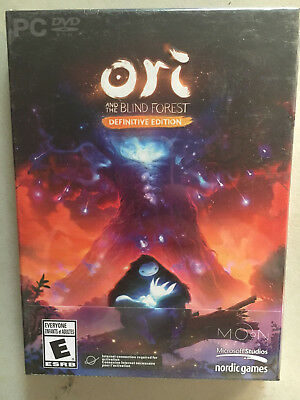 NEW Ori & the Blind Forest Definitive Edition PC Video Game NOS Sealed