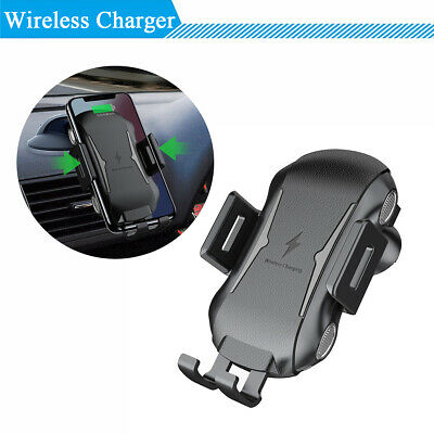 Multi-protection Car Air Vent Wireless Charger Fast Phone Charging Anti-slip