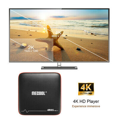 MECOOL M8S Android 7.1 TV Box 2GB+16GB Amlogic S905W 2.4G WIFI 4K Media Player