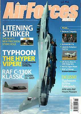 Air Forces Monthly 2009 November RAF C-130,Oman,Tiger Meet,King Air,B-52